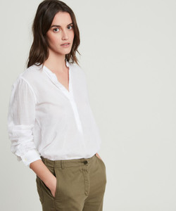 Hartford White Carta Shirt