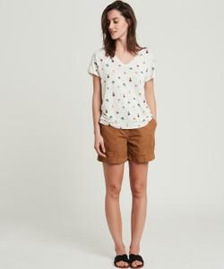 Hartford Ecru Touwai T-Shirt