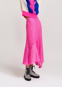 Essentiel Antwerp Pink Polka Vadorable Skirt