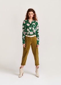 Essentiel Antwerp Green Veccioni Shirt