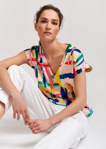 Essentiel Antwerp Multi-Colored Veda Top
