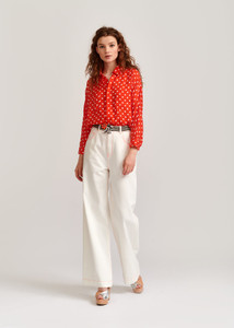 Essentiel Antwerp Red Polka Viral Shirt