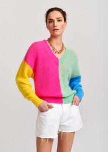 Essentiel Antwerp Multi-Colored Vivar Sweater