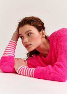 Essentiel Antwerp Pink Voos Sweater