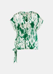 Essentiel Antwerp Green Tie Dye Vronny Top