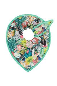 Pom Jade World of Luck Scarf