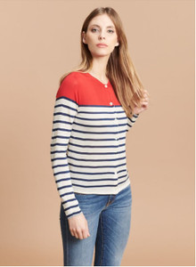 Majestic Filatures Thin Stripe Cardigan