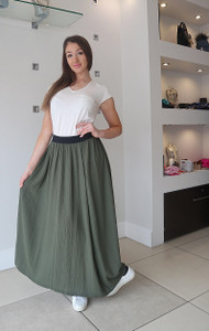 Transit Green Skirt