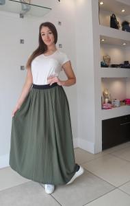 Transit Green Skirt