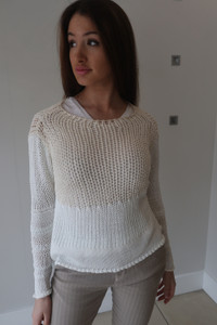 Transit Par Such Cable Knit Sweater