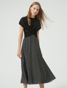 Sportmax Code Boemia Polka Dot Dress