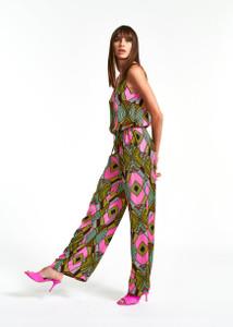 Essentiel Antwerp Multicolored Graphic-Print Jumpsuit