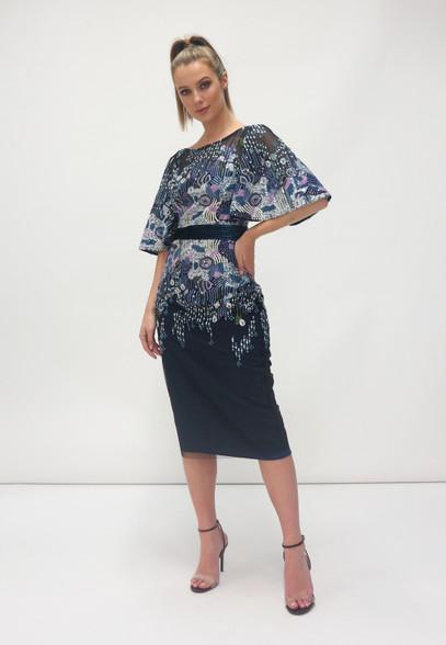 Fee G Sequins Midi Dress