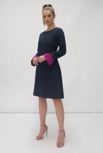 Fee G AW20 Navy Dress   Anastasia Boutique