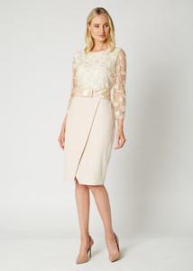 Fee G Combi Cream Dress | Anastasia