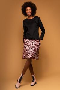 Sisters by Caroline Kilkenny Lucy Pink Animal Print Skirt