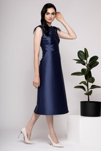 Caroline Kilkenny Evelyn Dress Blue