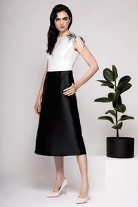 Caroline Kilkenny Evelyn Dress Black&White | Anastasia