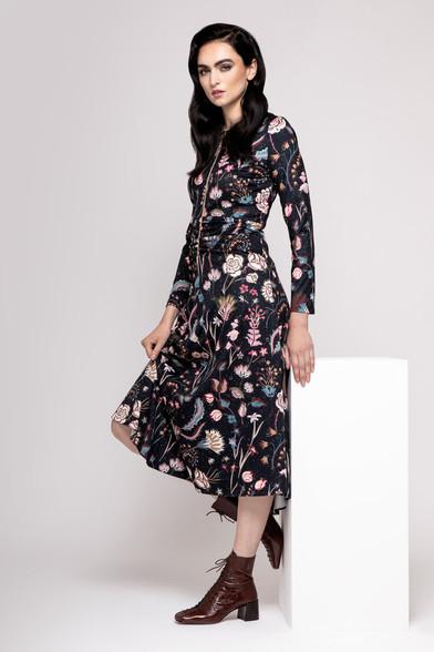 Caroline Kilkenny Mira Dress Flower Print