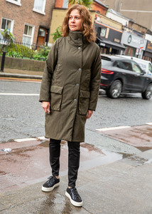 Transit Par Such Coat Olive