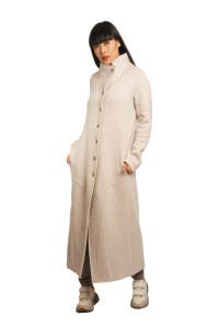 Transit Long Wool Coat Ivory