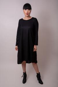 Transit Black Chiffon Dress