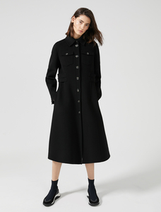 Sportmax Code Black Coat