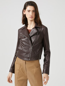 Sportmax Code Alec Leather Jacket