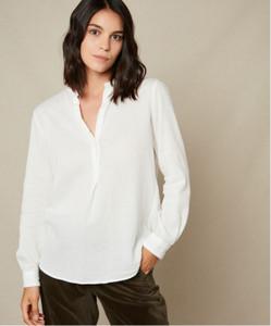 Hartford Carta Cotton Gauze Shirt | Anastasia Boutique