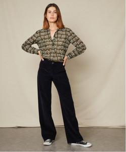 Hartford Carta Woven Shirt Khaki | Anastasia Boutique