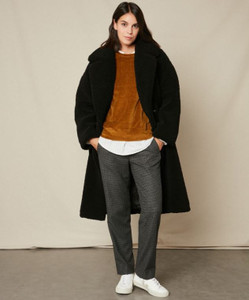 Hartford Fake Fur Valona Coat | Anastasia Boutique