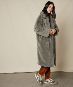 Hartford Fake Fur Vaderi Coat | Anastasia Boutique