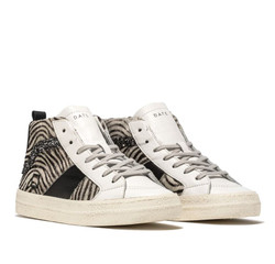 D.A.T.E. HAWK PONY ZEBRA SNEAKERS