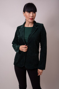 Majestic Filatures Blazer Dark Green