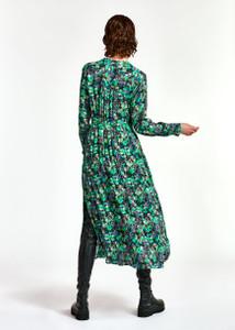 Essentiel Antwerp Wineglass Shirt Dress Green   Anastasia