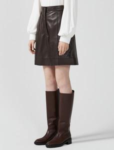 Sportmax Code Geisha Leather Shorts