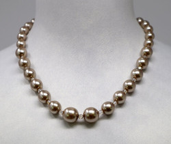 Pat Whyte Single Strand Pearls