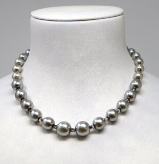 Pat Whyte Pearls Silver