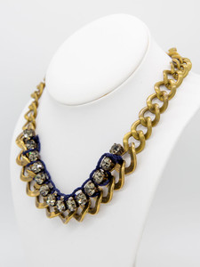 Pat Whyte Diamonte Chain Necklace