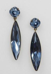 Pat Whyte Sapphire Tear Earrings
