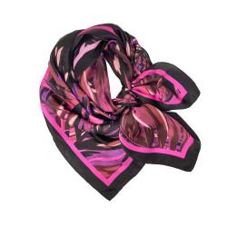 Debbie Millington Pink Boa Silk Scarf