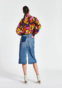 Essentiel Antwerp Zarmony Colorful silk shirt