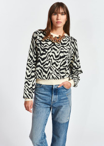 Essentiel Antwerp Zhello Zebra Sweater