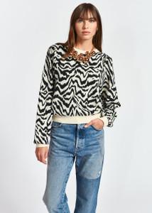 Essentiel Antwerp Zhello Zebra Sweater