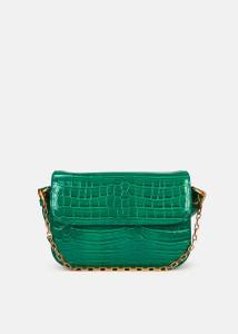 Essentiel Antwerp croc-effect shoulder bag