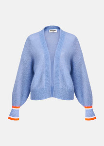 Essentiel Antwerp Blue Mohair Cardigan