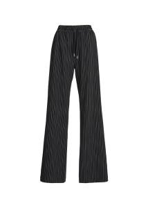 Essentiel Antwerp Black Pinstripe Pants