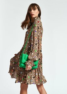 Essentiel Antwerp Ruffled Collar Dress