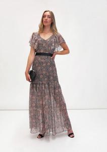Fee G Animal Print Long Dress