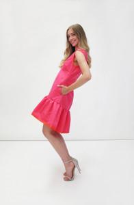 Fee G Sleeveless Short Dress Pink